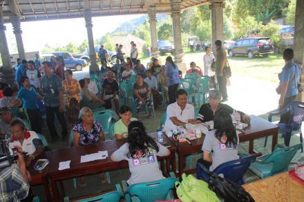 Pengobatan Gratis dan Pasar Murah Desa Galungan