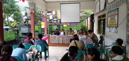 Sosialisasi Permendagri 81 Tahun 2015 tentang Perkembangan Desa dan Kelurahan