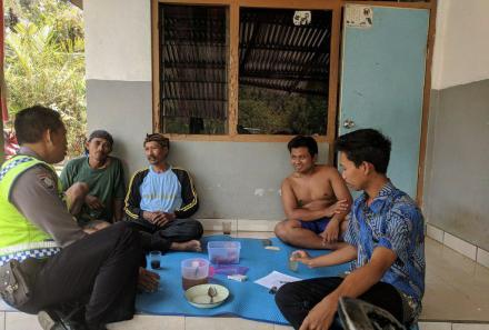 Kegiatan Penyuluh Bahasa Bali Desa Galungan