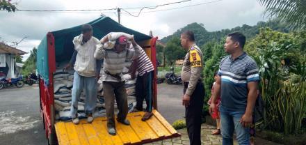 Desa Galungan Sebanyan 2.660 Kg Menerima Bansos Rastra Bulan Januari & Pebruari 2019