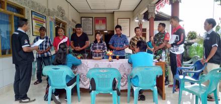 Pelantikan Ketua KPPS Desa Galungan Tahun 2019