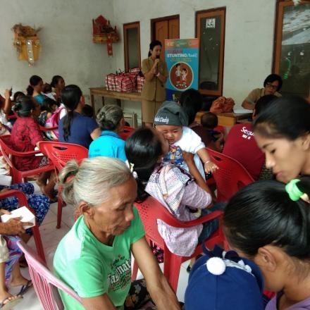Puskesmas Sawan 2 dan Kader TBC Desa Galungan Mengadakan Sosialisasi Pencegahan Stunting
