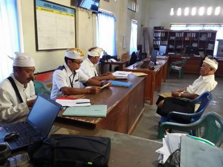 Desa Galungan Ikut Dalam Pemilihan Perbekel Serentak Kabupaten Beleleng