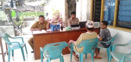 Dinas BKD Kabupaten Buleleng Melaksanakan Kegiatan Pemungutan Pajak