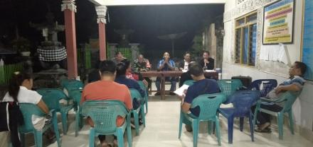 Rapat Pleno Penetapan Calon Anggota BPD Desa Galungan Periode 2019 - 2025
