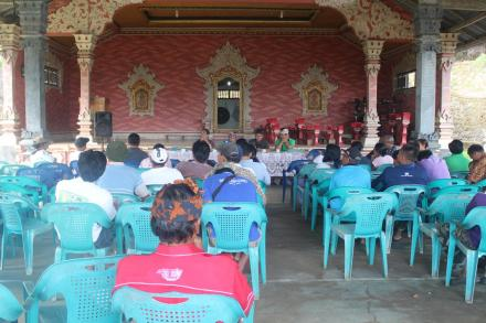 Rapat Pleno Penetapan Calon Anggota BPD Terpilih Periode 2019 - 2025