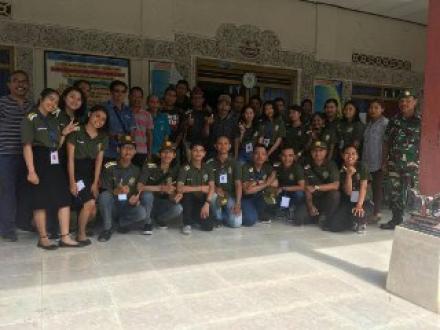 Desa Galungan- Penyambutan Mahasiswa KKN UNUD Tahun 2019