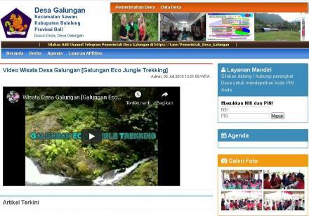 Desa Galungan - Layanan Mandiri Bagi Masyarakat