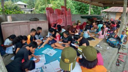 Program Galungan Mengajar dari KKN Universitas Udayana Periode XIX Tahun 2019