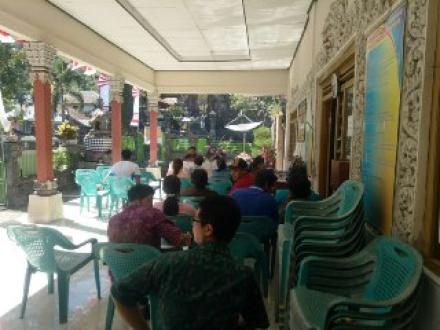 Sosialisasi program GSI B dari DPPKBPPPA Kabupaten Buleleng