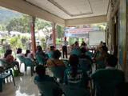 Pertemuan Forum Musyawarah Tingkat Desa Kampung KB