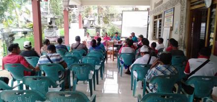 Tim Penyusun RPJMDes Melaksanakan Kegiatan Musyawarah Desa