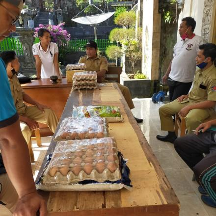 Bantuan Sembako Lansia _Group Honda Big Back Bali