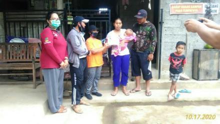 Penyerahan Bantuan Dari Yayasan Angel Hearts Bali